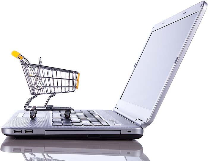 Wir verwenden eine moderne, mobiloptimierte Shopsoftware mit vielen Schnittstellen und Zahlungsmodulen