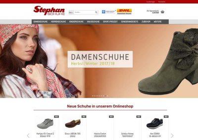 Schuhhaus Stephan Onlineshop