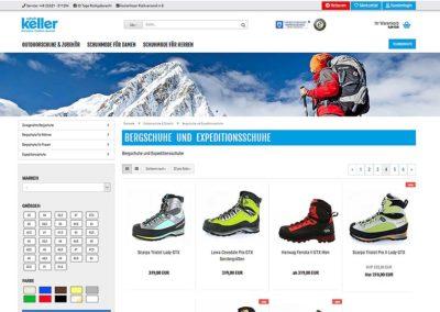 Schuh-Keller KG Onlineshop